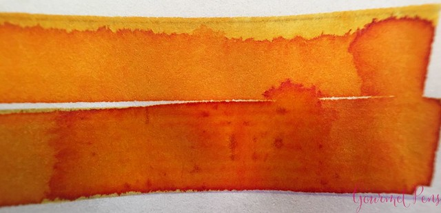 Ink Shot Review @RobertOsterInk Peach @SakuraFPGallery 4