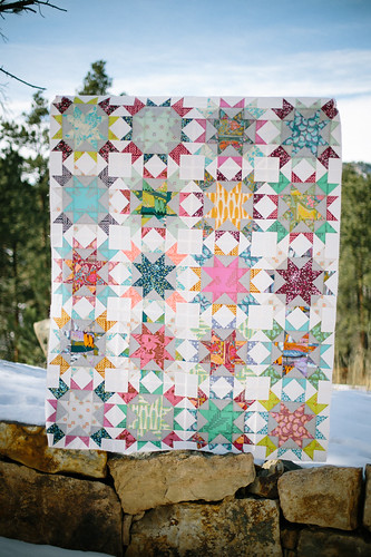 Finally-finished quilt top! | by frommartawithlove
