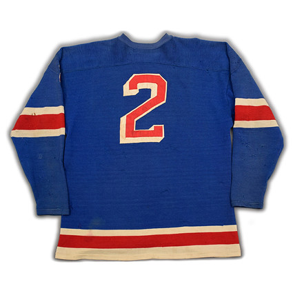 New York Rangers 1961-62 B jersey