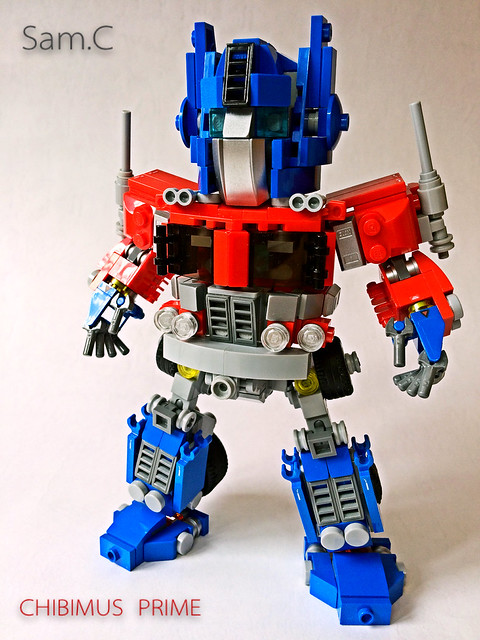 LEGO Transformers: Chibimus Prime- Front