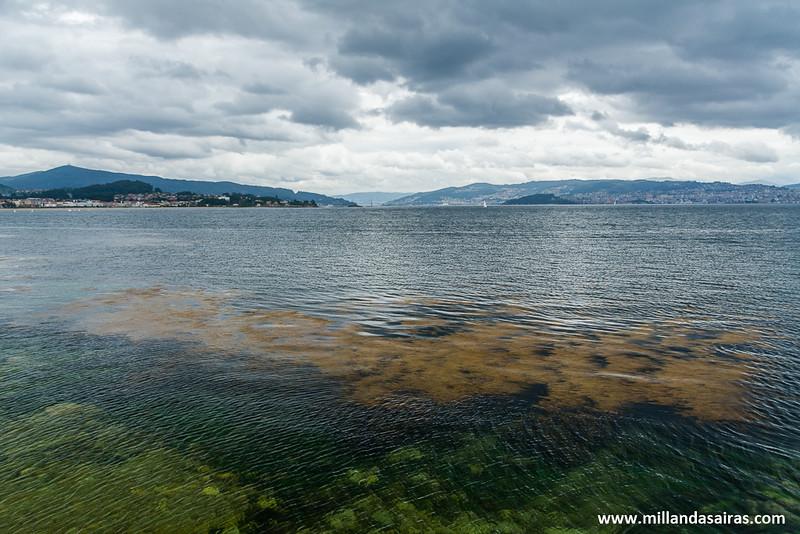 Vistas de la ría de Vigo