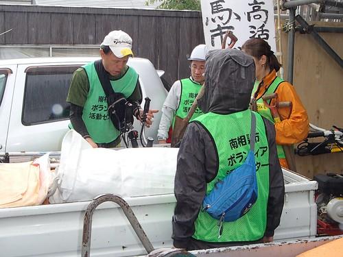 南相馬・小高でボランティア(援人 0626便)