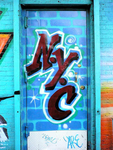 Graffiti in Lower East Side | by gettingpurlywithit
