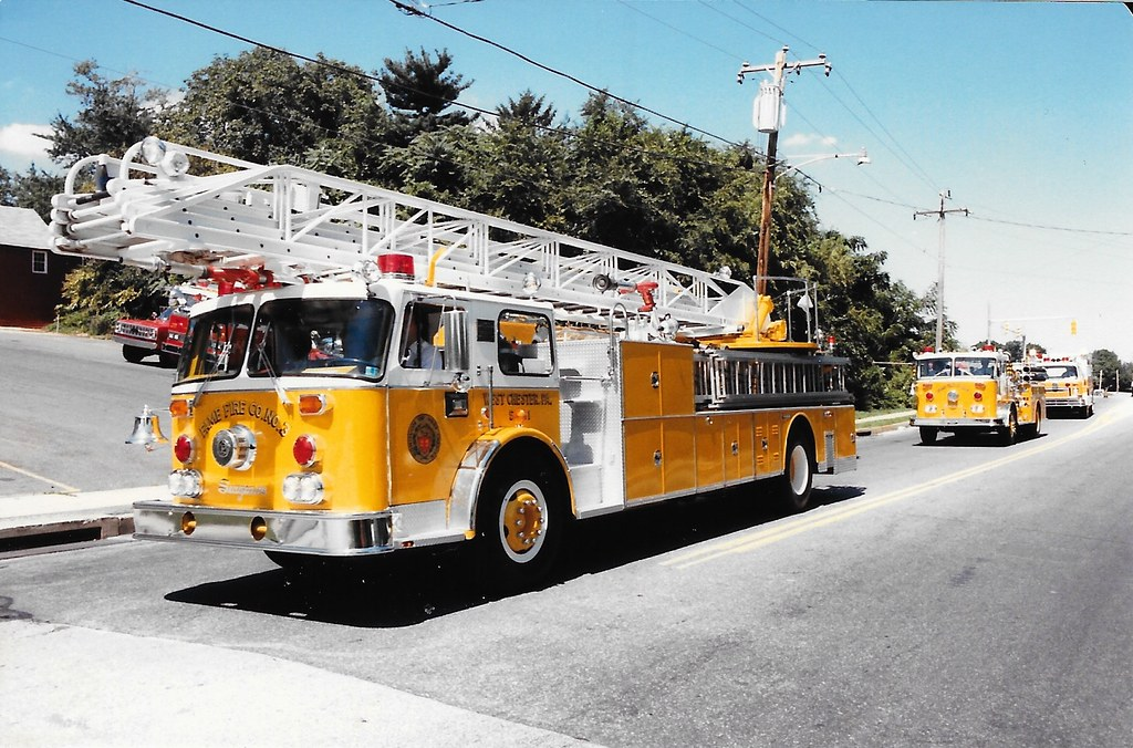 Fame Seagrave Ladder Fame Fire Company West Chester