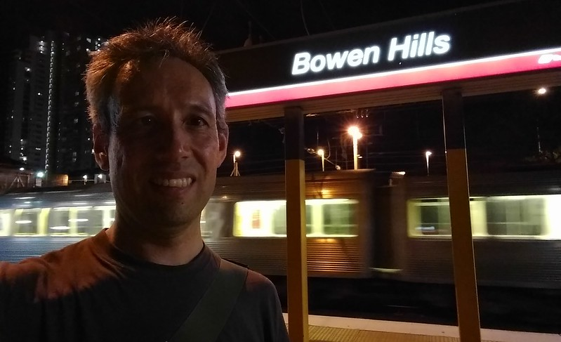 Daniel at Bowen Hills station
