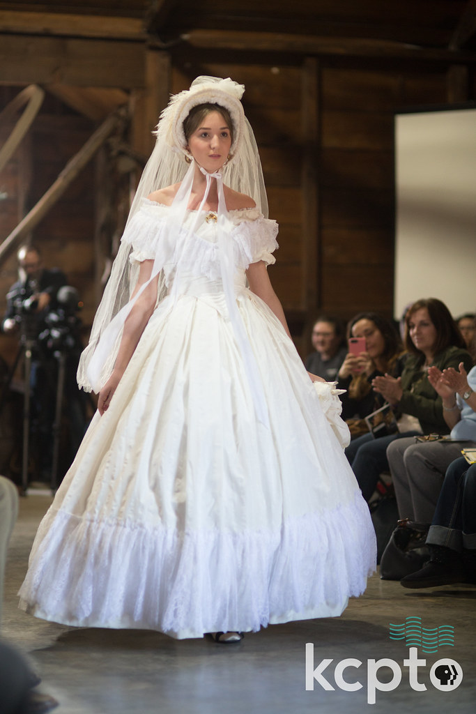 Street Style: A Civil War Fashion Show | Female model is dre… | Flickr