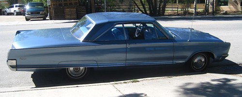 1966 Chrysler Newport owned by Bob Hodge's dad
