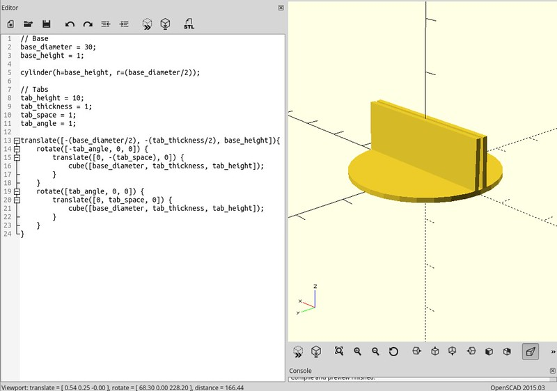Stand OpenSCAD