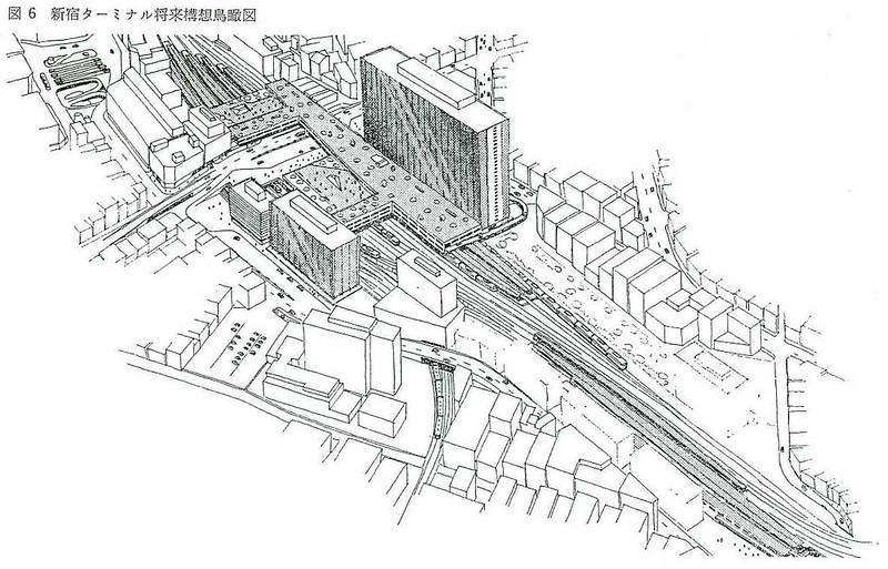 大新宿構想時代の上越新幹線新宿駅地下ホーム (16)