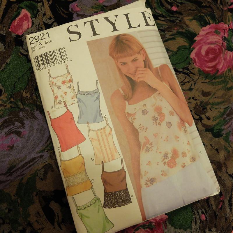 Style 2921 90s pattern