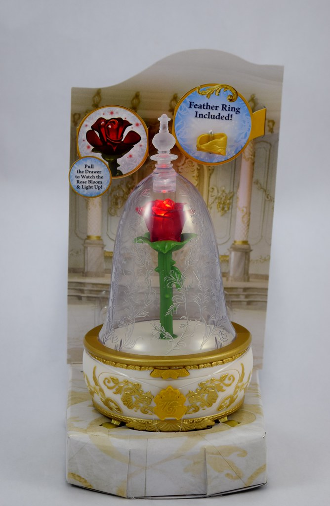 Beauty and the Beast Enchanted Rose Jewelry Box by Jakks P Flickr
