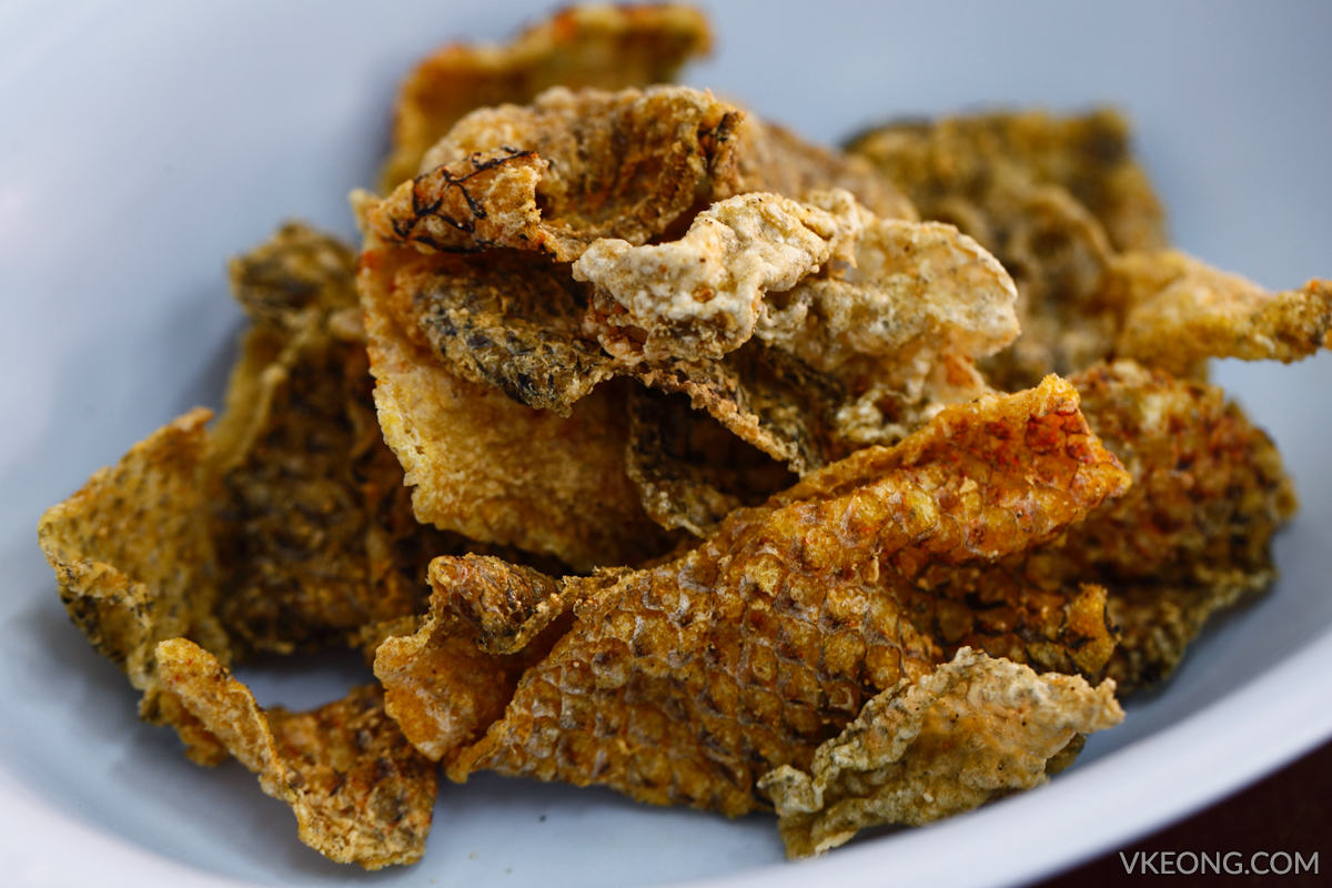 Rung Ruang Deep Fried Fish Skin Bangkok