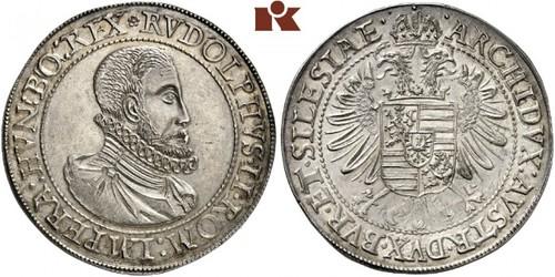 Lot 1473: Rudolf II., 1576-1612. Reichstaler