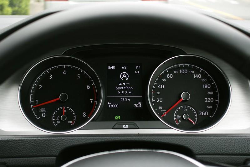 GOLF7 エラー Start/Stopシステム