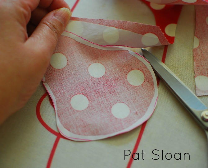 Pat Sloan Fusible Applique tutorial 8