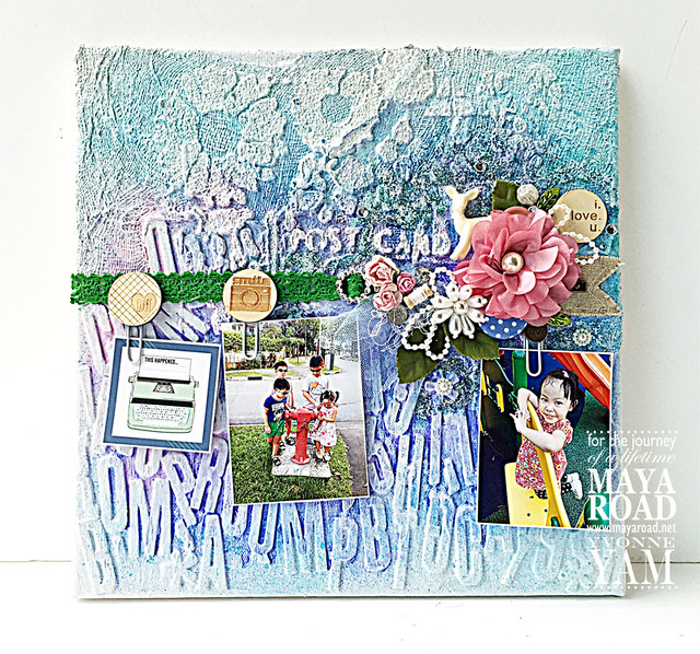 Mixed-media-noticeboard-by-Yvonne-Yam-for-Maya-Road