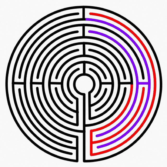 Labyrinth flaw for instagram
