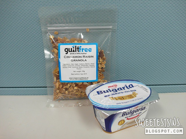 guiltfree cinnamon raisin granola