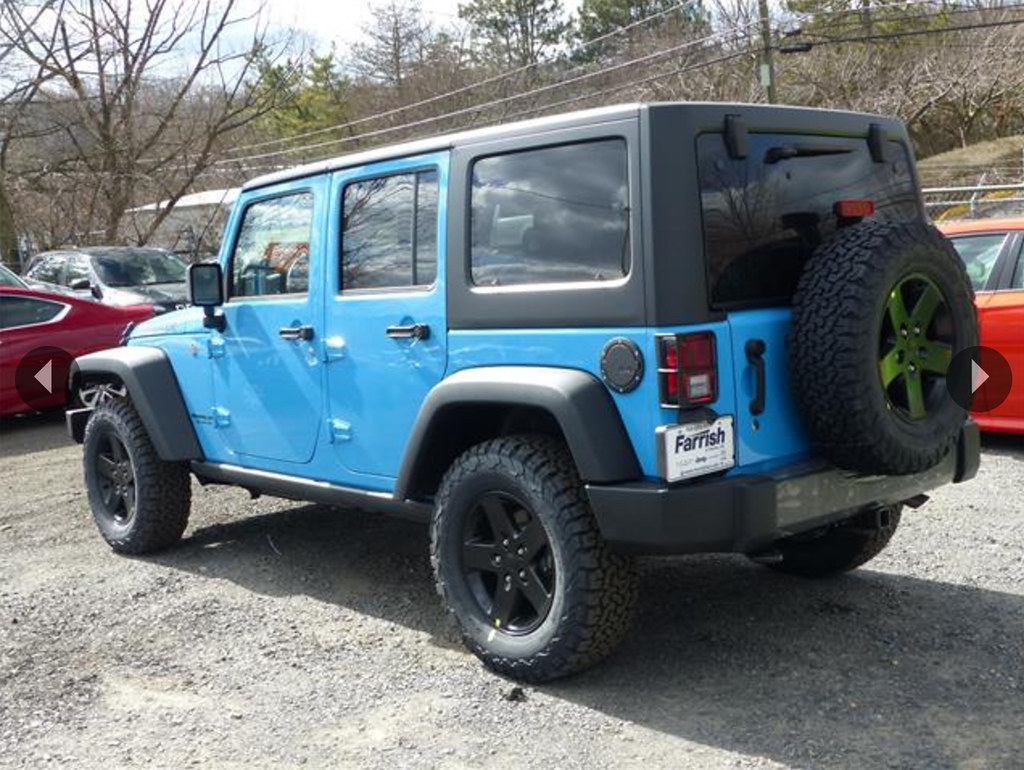 More Special Editions Before The End Of The Jk Jku Jeep
