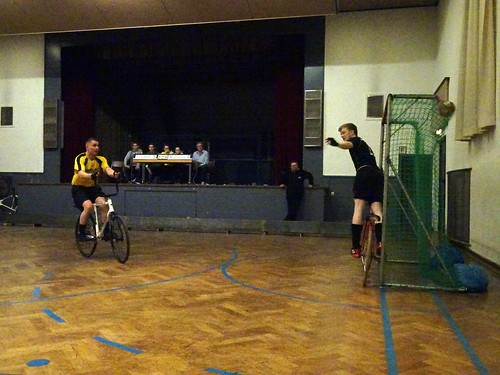 4th division cycle ball tournament in Mühlacker-Enzberg