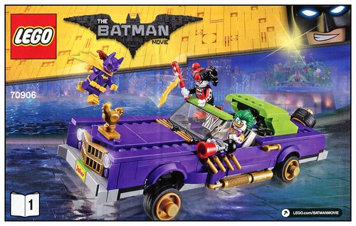 The LEGO Batman Movie 70906 The Joker Notorious Lowrider box05