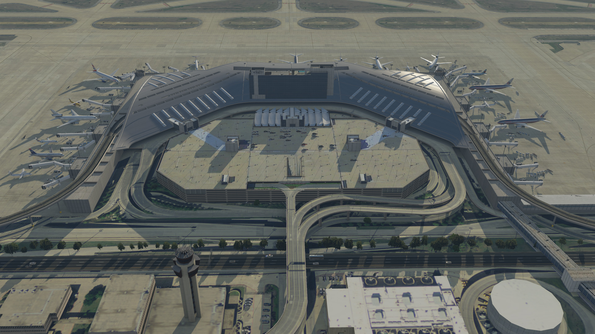 Available Now] Aerosoft Dallas/Fort Worth Intl for XP 10 & 11 - The