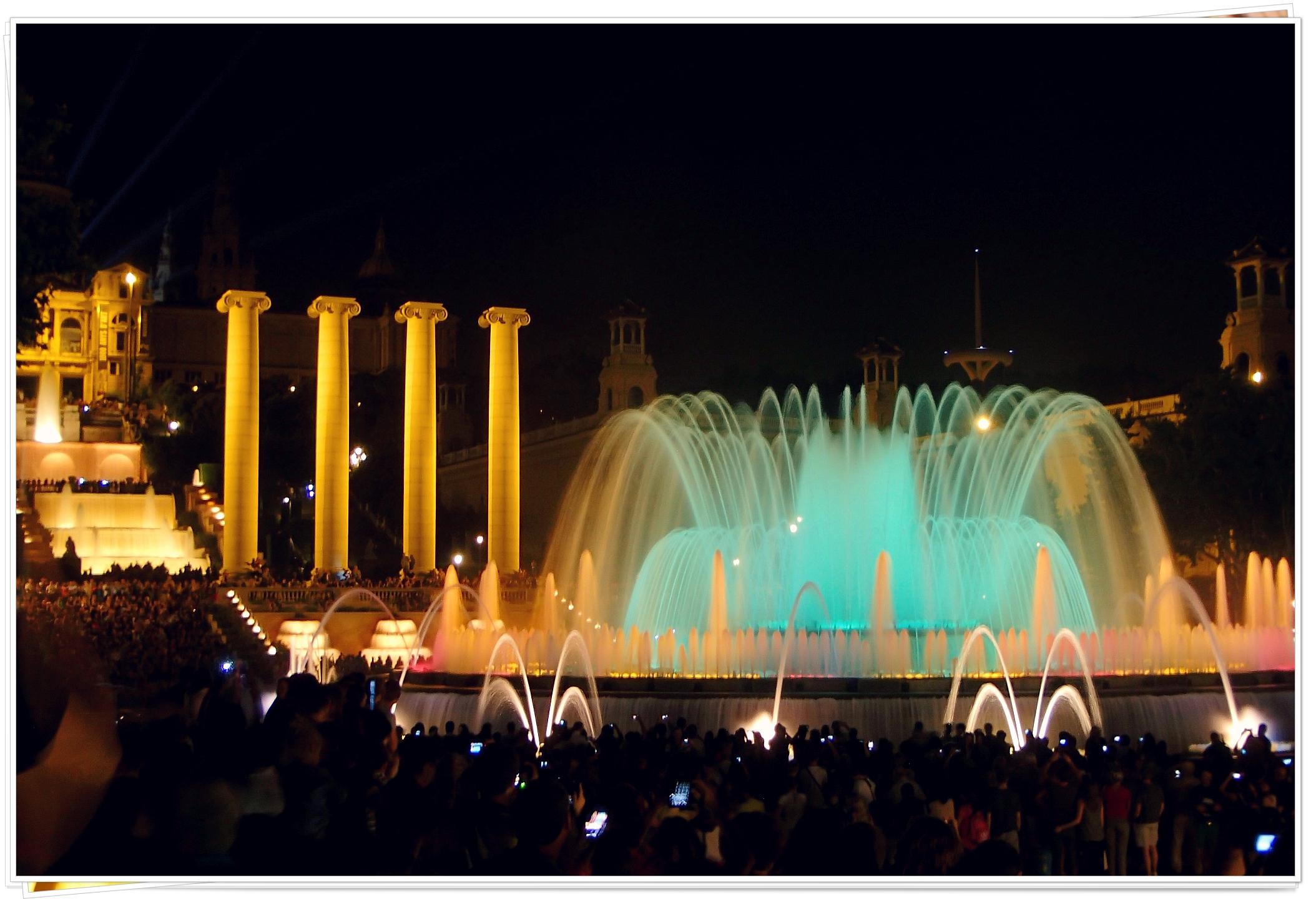 Magic Fountain of Montjuïc - Barcelona, Spain 2013