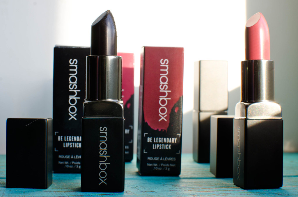 Помада Smashbox Be legendary lipstick отзыв, свотчи mashvisage.ru