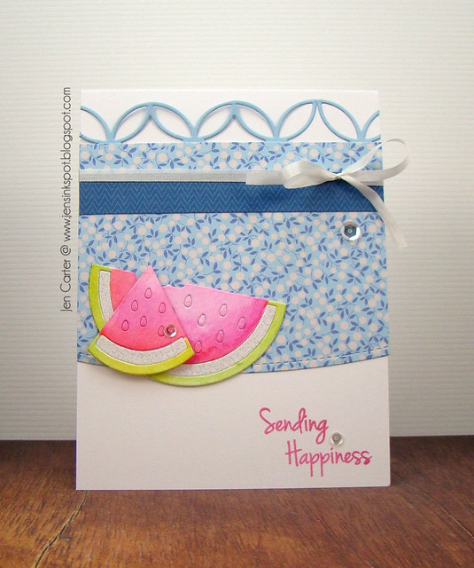 Jen Carter Watermelon Happiness