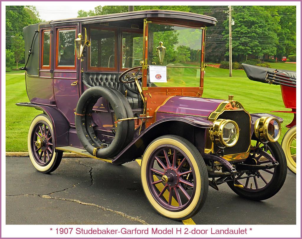 1907 Studebaker Garford Model H 2 Door Landaulet Visit