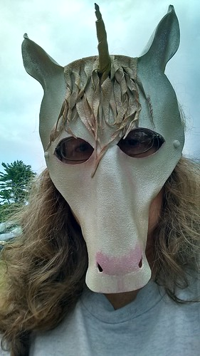 A rare selfie taken at the #marylandfaeriefestival