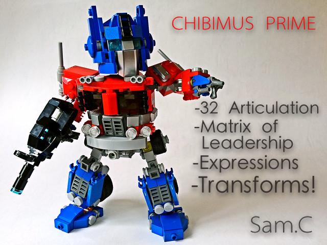 LEGO Transformers: Chibimus Prime- Intro