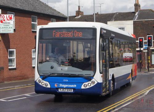 Stagecoach Norfolk 25126 YJ57EHX