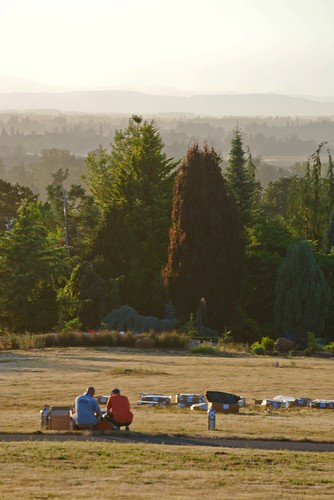 Prepping for the fireworks show