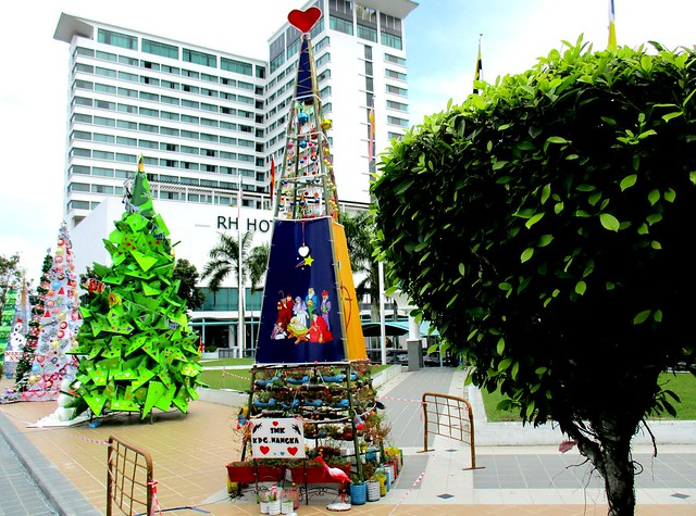 Nativity Christmas tree from SMK Kpg Nangka