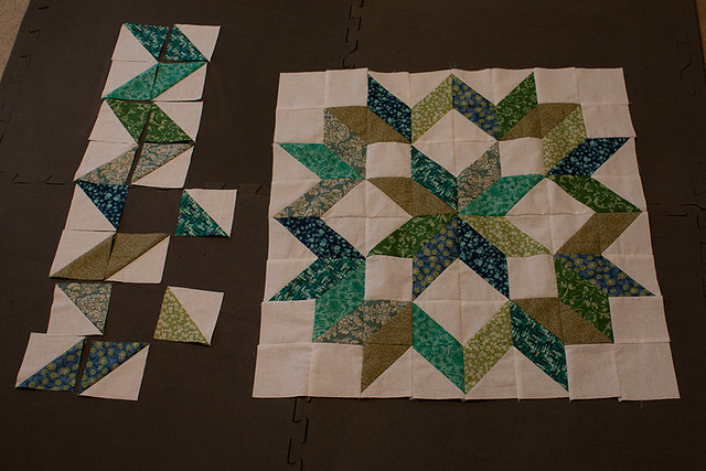 Piecing in Progress