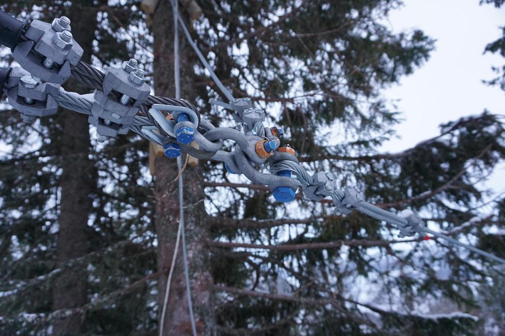 Adrenalinkick - ZipLine i Åre ravinen powertex