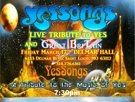 YesSongs 3-17-17