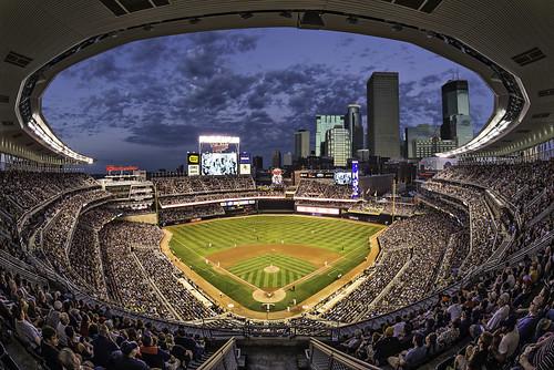 Minnesota Twins Target Field Baseball Stadium Fisheye Flickr