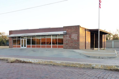 Clarendon, TX post office | by PMCC Post Office Photos