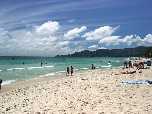 サムイ島 チャウエンビーチ  Koh Samui Chaweng Beach
