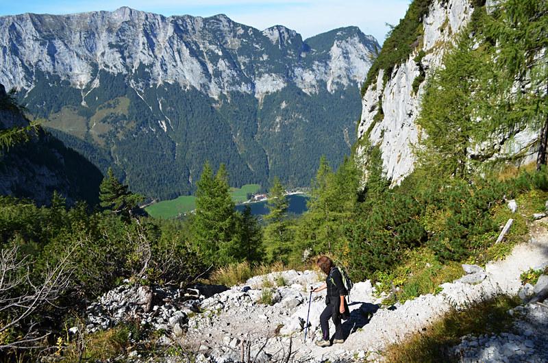 Steep descending at Blaueishütte, Bavaria