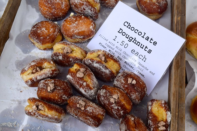 Chocolate Doughnuts at Walmer Food Festival