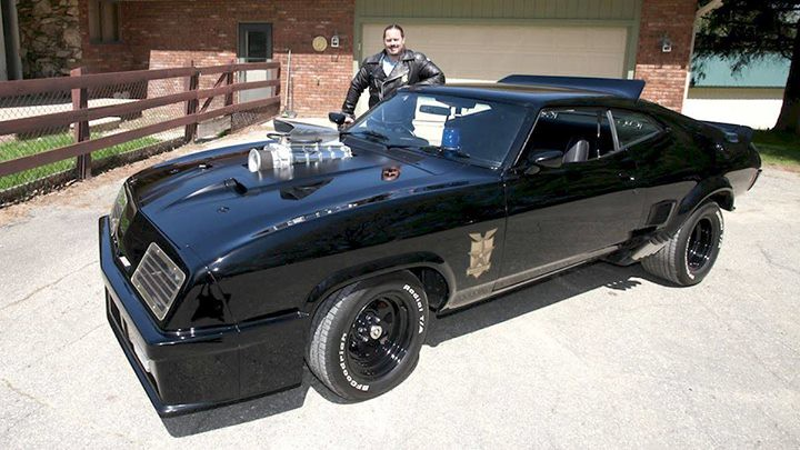 Dale Walter's custom Interceptor by Mad Max Cars