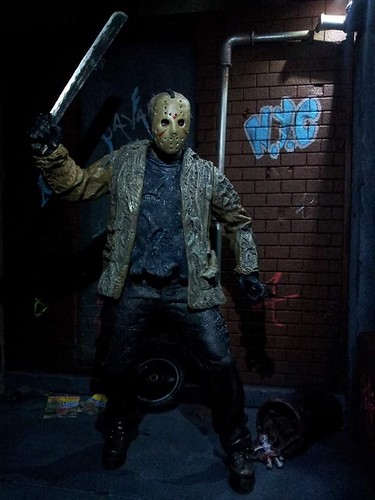 Custom made dioramas by Louise Townend - Jason Voorhees