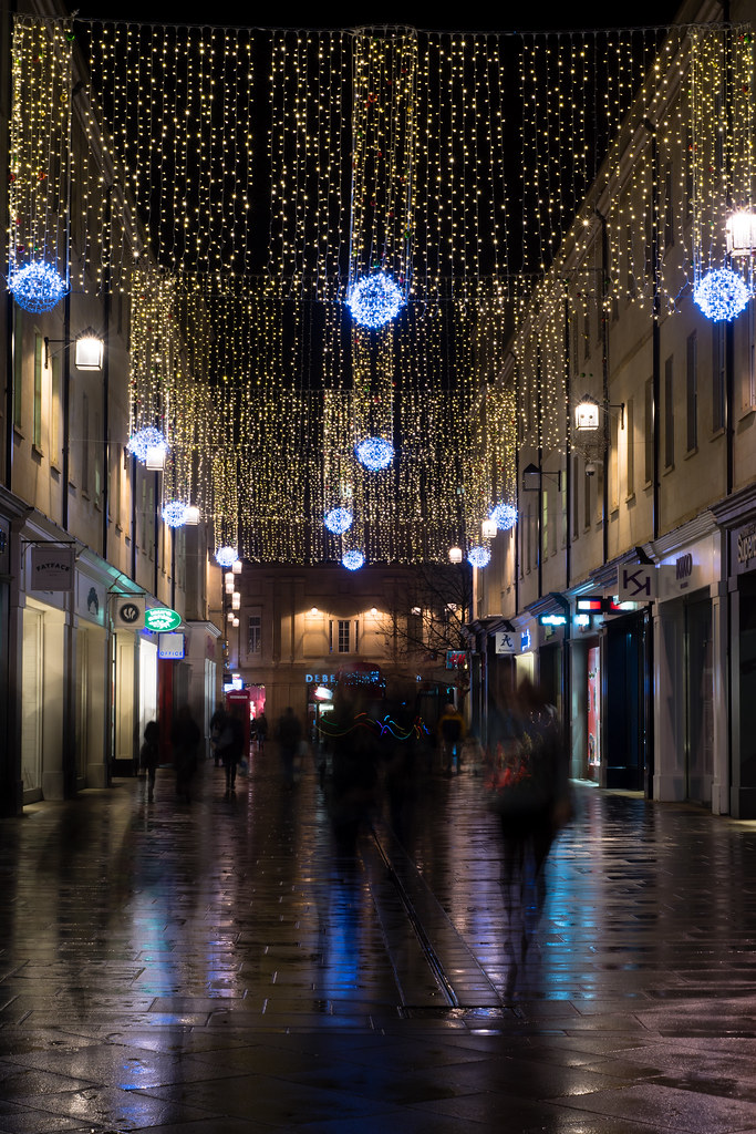 ... Christmas lights at Southgate Bath mall | by Ian Redding - Christmas Lights At Southgate Bath Mall Bath, UK - Decembe… Flickr
