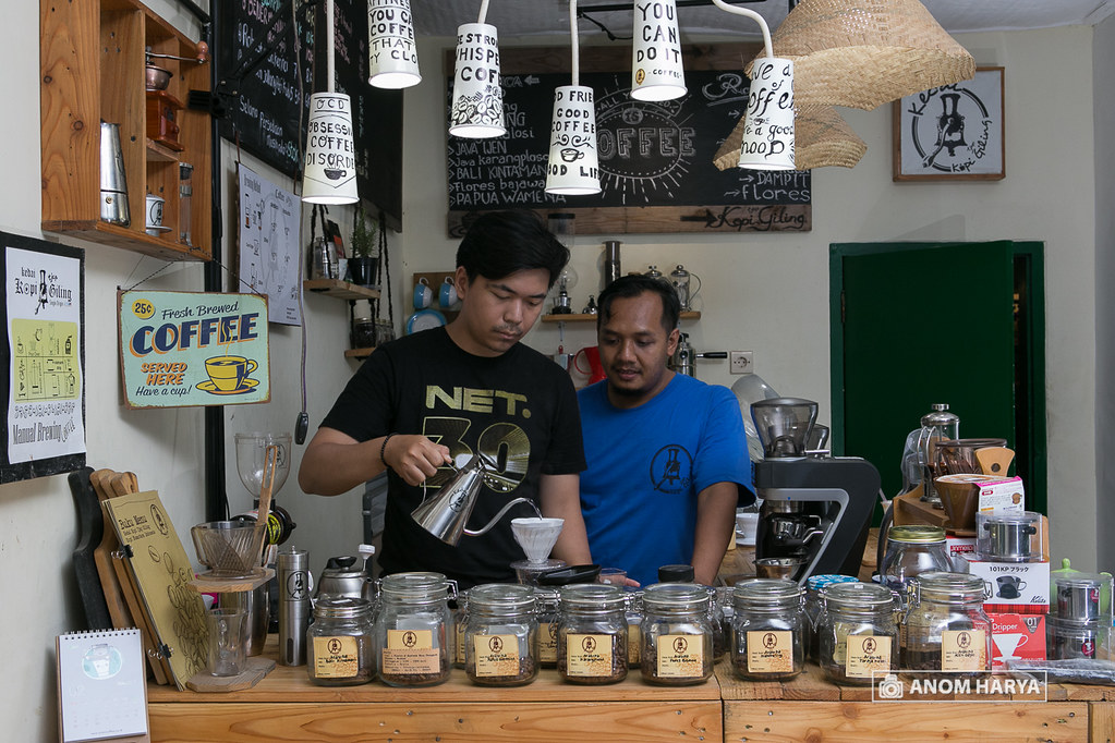 Sharing Knowledge about Coffee
