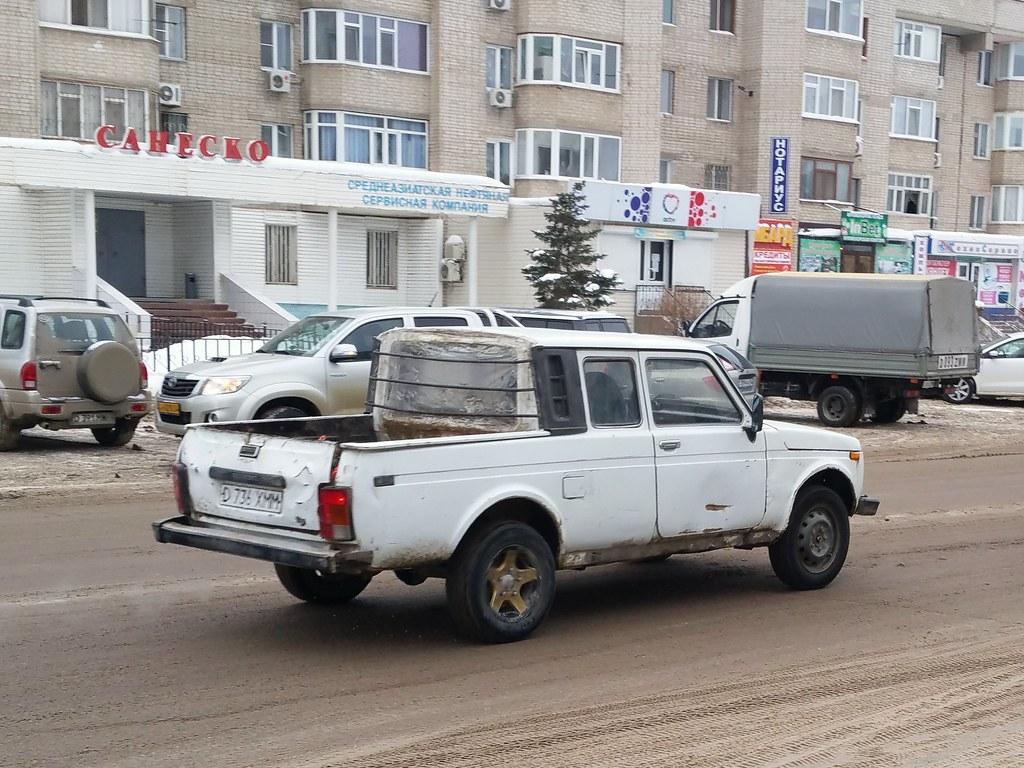 ... ВАЗ-2329 / Lada Niva Pickup | by Skitmeister