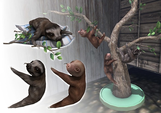 JIAN Baby Sloth Collection (FaMESHed)