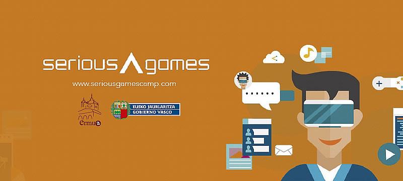 Cartel anunciador del Serious Games Camp Ermua